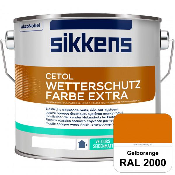 Cetol Wetterschutzfarbe Extra (RAL 2000 Gelborange)
