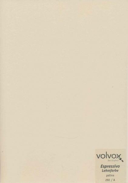 Volvox Espressivo Lehmfarbe - patina