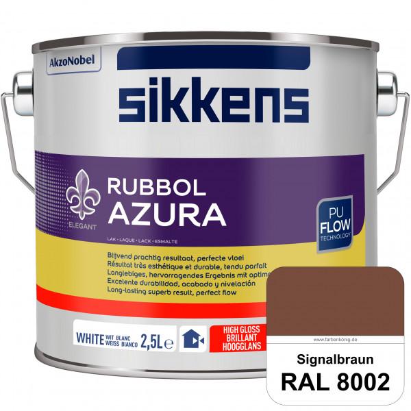Rubbol Azura (RAL 8002 Signalbraun) hochglänzender Lack (löselmittelhaltig) innen & außen