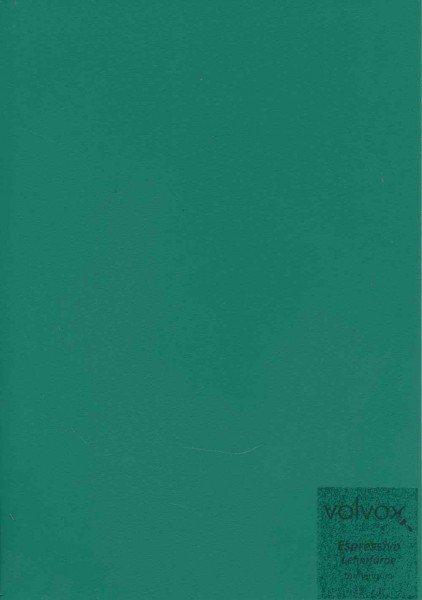 Volvox Espressivo Lehmfarbe - tannengrün
