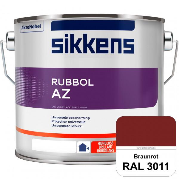 Rubbol AZ (RAL 3011 Braunrot) Hochwertiger, universeller Hochglanzlack (lösemittelhaltig) außen
