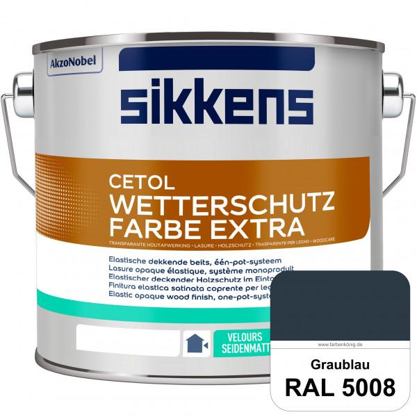 Cetol Wetterschutzfarbe Extra (RAL 5008 Graublau)