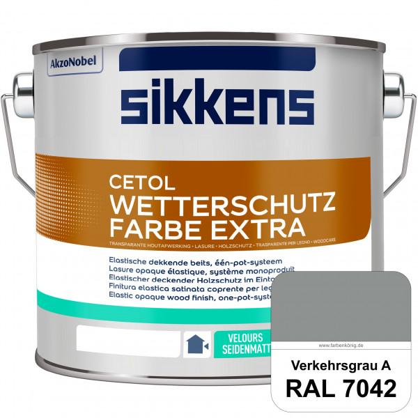 Cetol Wetterschutzfarbe Extra (RAL 7042 Verkehrsgrau A)