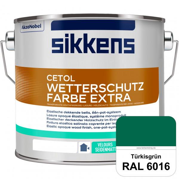 Cetol Wetterschutzfarbe Extra (RAL 6016 Türrkisgrün)