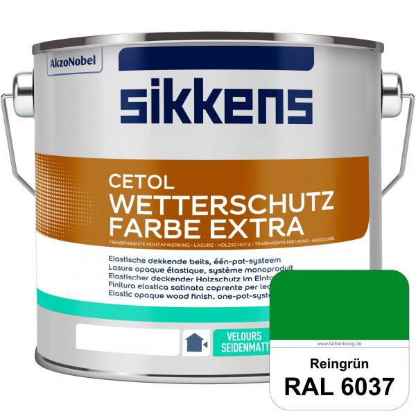 Cetol Wetterschutzfarbe Extra (RAL 6037 Reingrün)