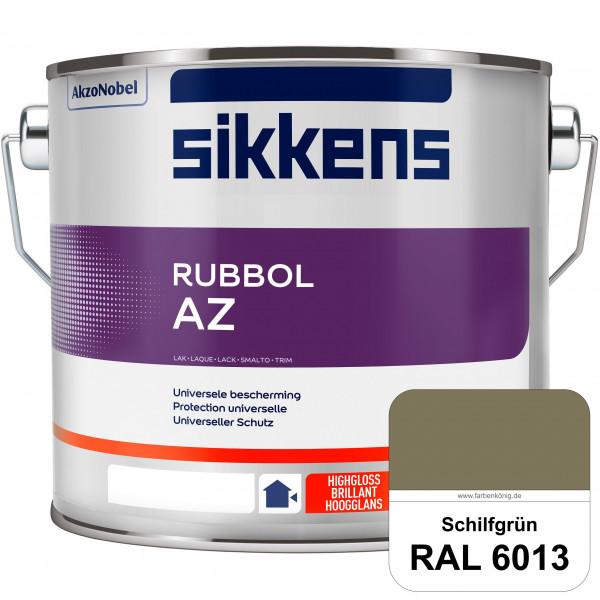 Rubbol AZ (RAL 6013 Schilfgrün) Hochwertiger, universeller Hochglanzlack (lösemittelhaltig) außen