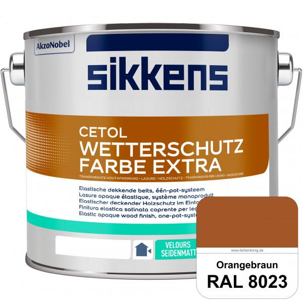 Cetol Wetterschutzfarbe Extra (RAL 8023 Orangebraun)