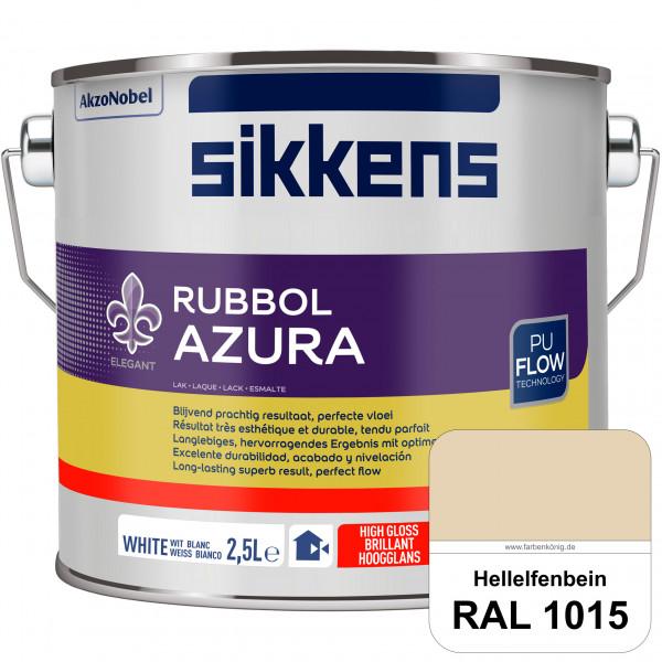 Rubbol Azura (RAL 1015 Hellelfenbein) hochglänzender Lack (löselmittelhaltig) innen & außen
