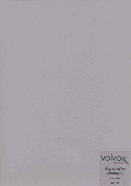 Volvox Espressivo Lehmfarbe - lavendel