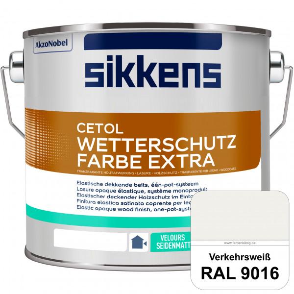 Cetol Wetterschutzfarbe Extra (RAL 9016 Verkehrsweiß)