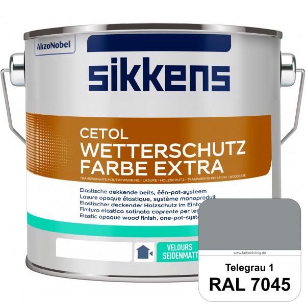 Cetol Wetterschutzfarbe Extra (RAL 7045 Telegrau 1)