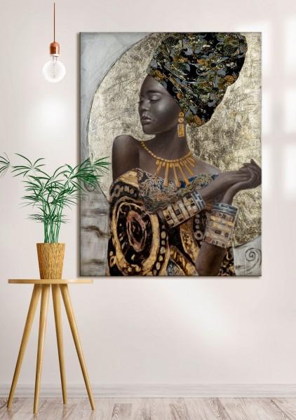 "Gemälde ""African Lady"""