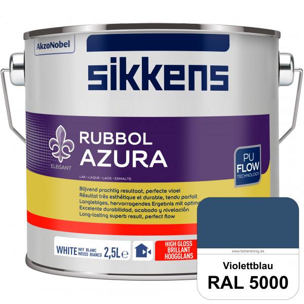 Rubbol Azura (RAL 5000 Violettblau) hochglänzender Lack (löselmittelhaltig) innen & außen