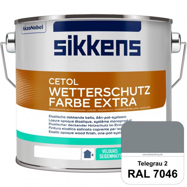 Cetol Wetterschutzfarbe Extra (RAL 7046 Telegrau 2)
