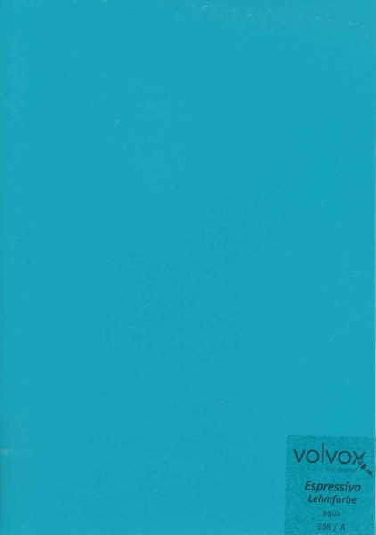 Volvox Espressivo Lehmfarbe - aqua