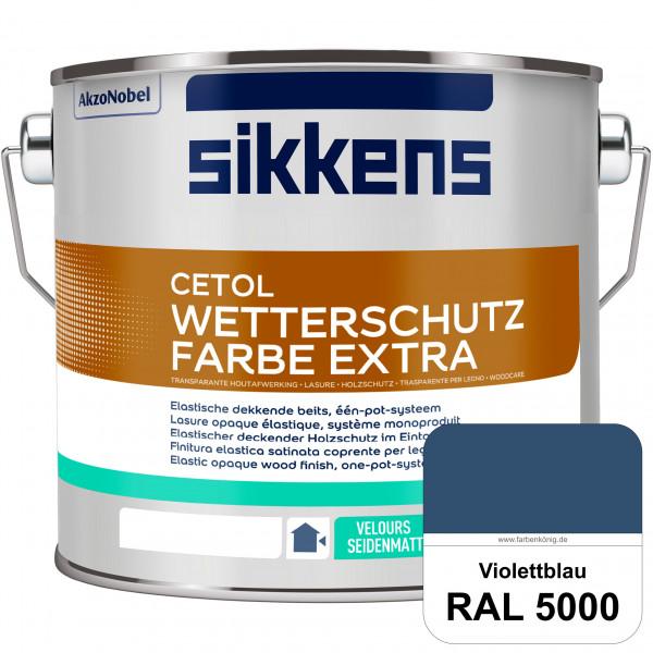Cetol Wetterschutzfarbe Extra (RAL 5000 Violettblau)