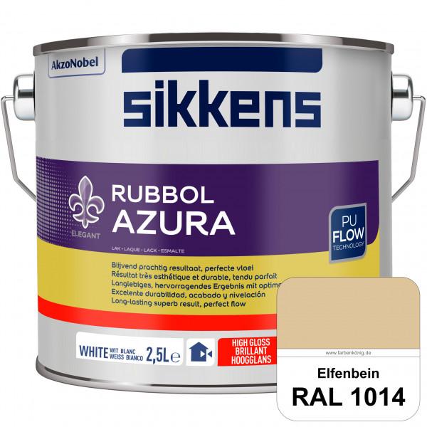 Rubbol Azura (RAL 1014 Elfenbein) hochglänzender Lack (löselmittelhaltig) innen & außen