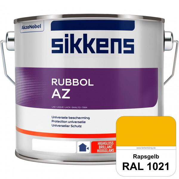 Rubbol AZ (RAL 1021 Rapsgelb) Hochwertiger, universeller Hochglanzlack (lösemittelhaltig) außen