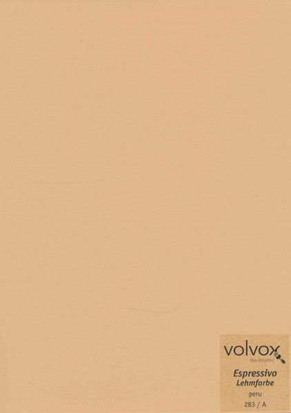 Volvox Espressivo Lehmfarbe - peru