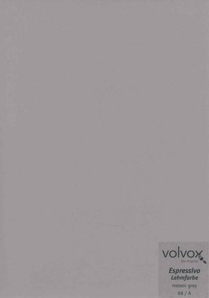 Volvox Espressivo Lehmfarbe - meteor grey