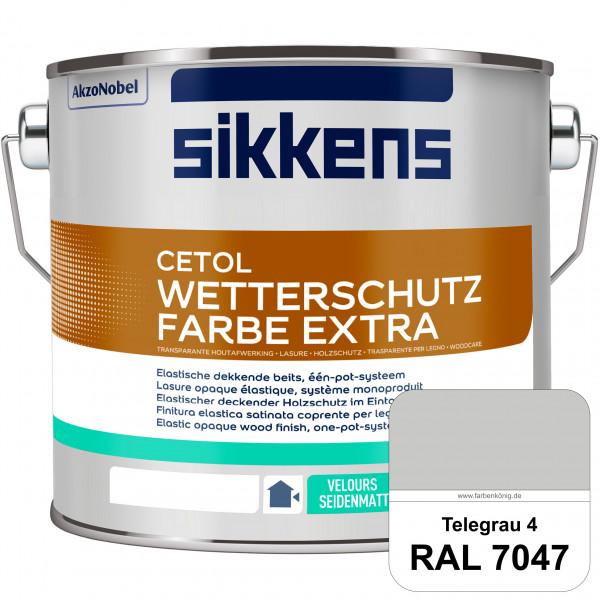 Cetol Wetterschutzfarbe Extra (RAL 7047 Telegrau 4)