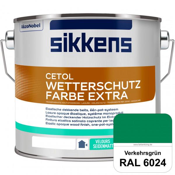 Cetol Wetterschutzfarbe Extra (RAL 6024 Verkehrsgrün)