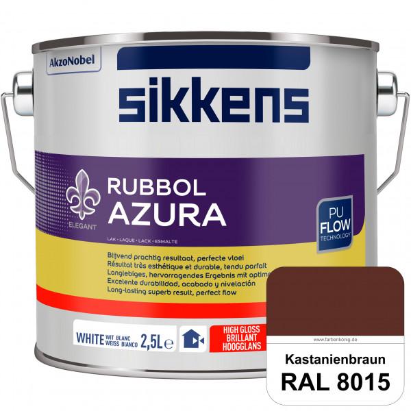 Rubbol Azura (RAL 8015 Kastanienbraun) hochglänzender Lack (löselmittelhaltig) innen & außen