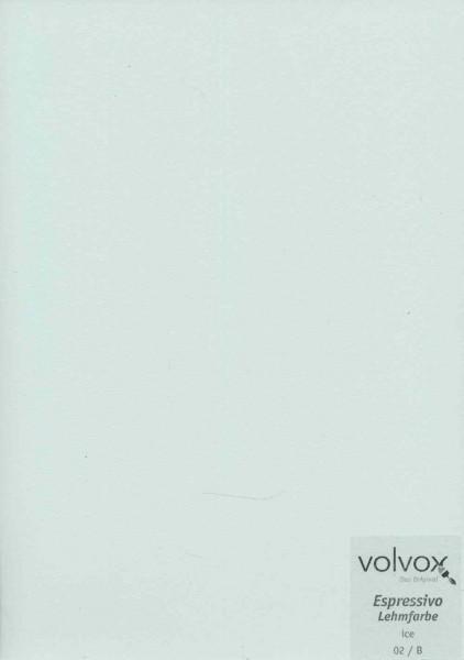 Volvox Espressivo Lehmfarbe - ice