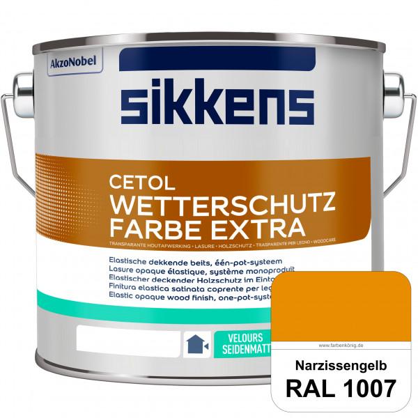 Cetol Wetterschutzfarbe Extra (RAL 1007 Narzissengelb)