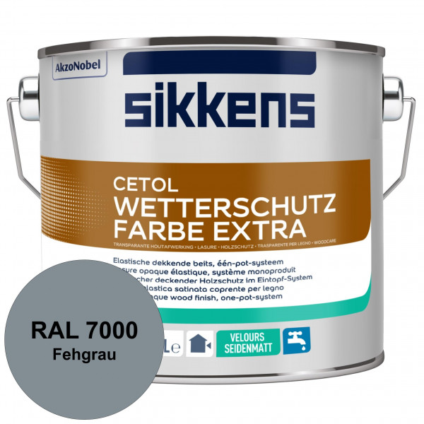 Cetol Wetterschutzfarbe Extra (RAL 7000 Fehgrau)