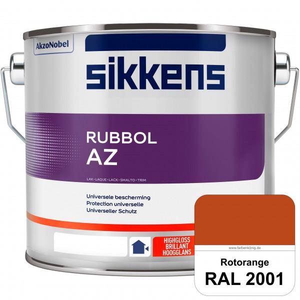 Rubbol AZ (RAL 2001 Rotorange) Hochwertiger, universeller Hochglanzlack (lösemittelhaltig) außen