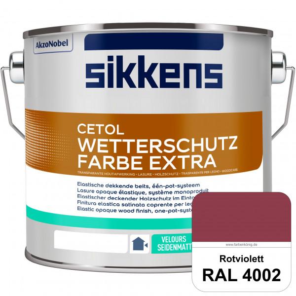 Cetol Wetterschutzfarbe Extra (RAL 4002 Rotviolett)