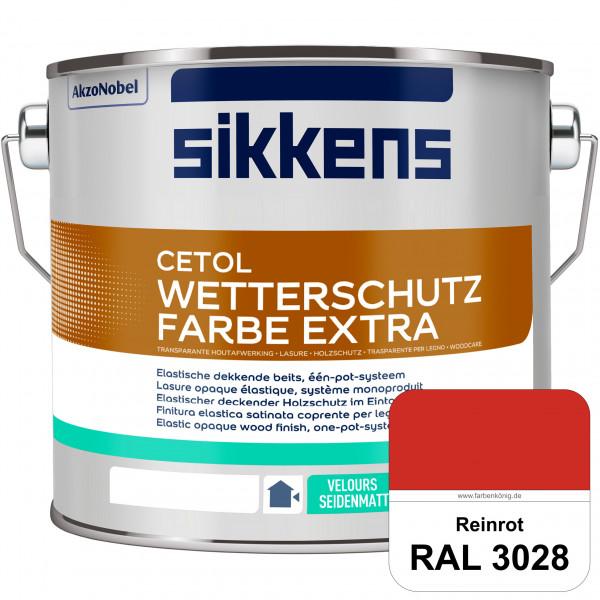 Cetol Wetterschutzfarbe Extra (RAL 3028 Reinrot)