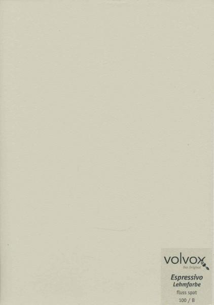 Volvox Espressivo Lehmfarbe - fluss spat