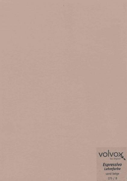 Volvox Espressivo Lehmfarbe - sand beige