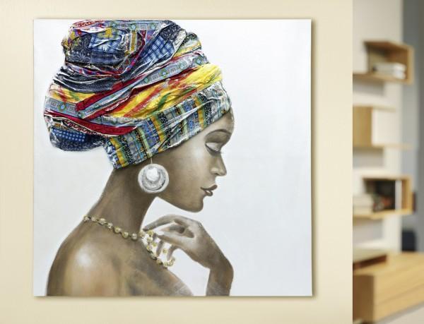 """Gemälde """"Afrikanische Schönheit"""""""