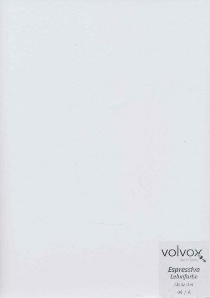 Volvox Espressivo Lehmfarbe - alabaster