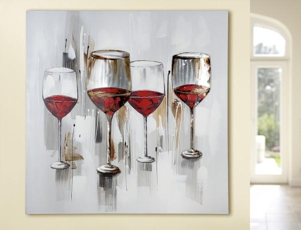 """Gemälde """"Weinprobe"""""""