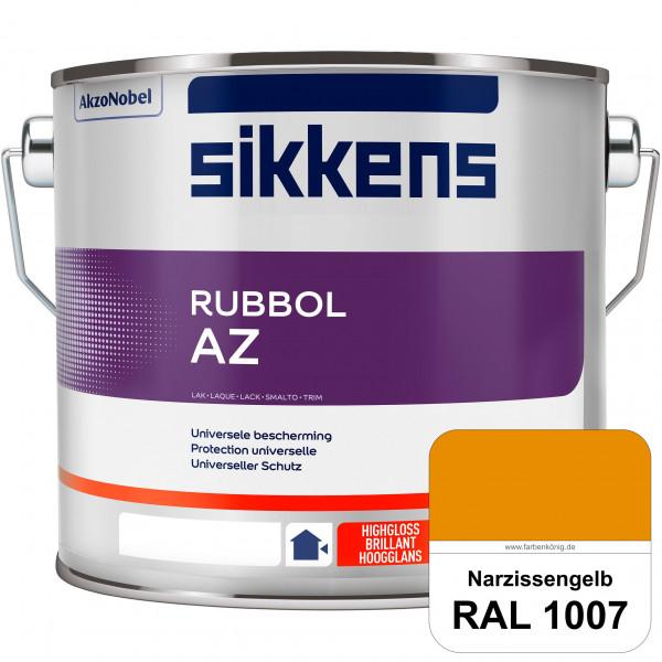 Rubbol AZ (RAL 1007 Narzissengelb) Hochwertiger, universeller Hochglanzlack (lösemittelhaltig) außen
