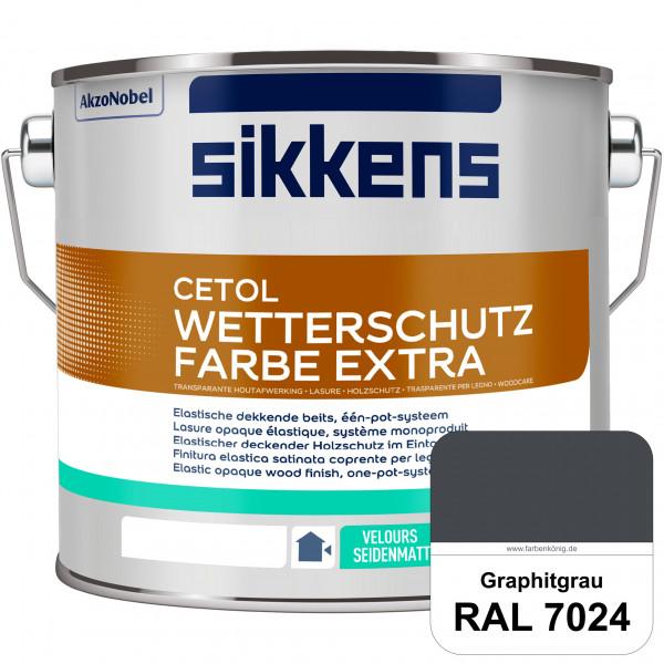 Cetol Wetterschutzfarbe Extra (RAL 7024 Graphitgrau)