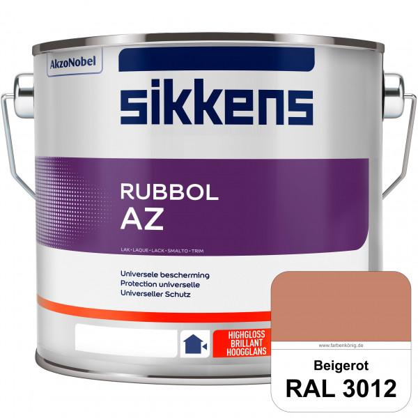 Rubbol AZ (RAL 3012 Beigerot) Hochwertiger, universeller Hochglanzlack (lösemittelhaltig) außen