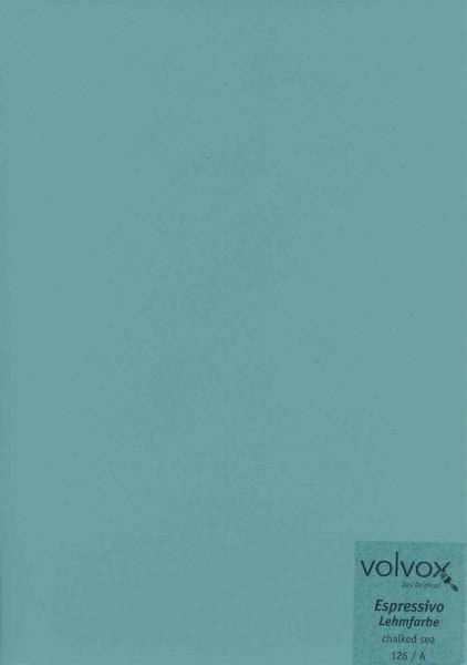 Volvox Espressivo Lehmfarbe - chalked sea