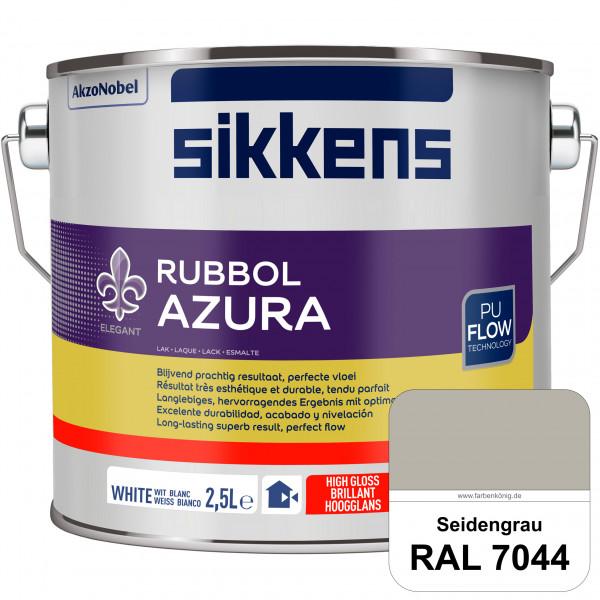 Rubbol Azura (RAL 7044 Seidengrau) hochglänzender Lack (löselmittelhaltig) innen & außen