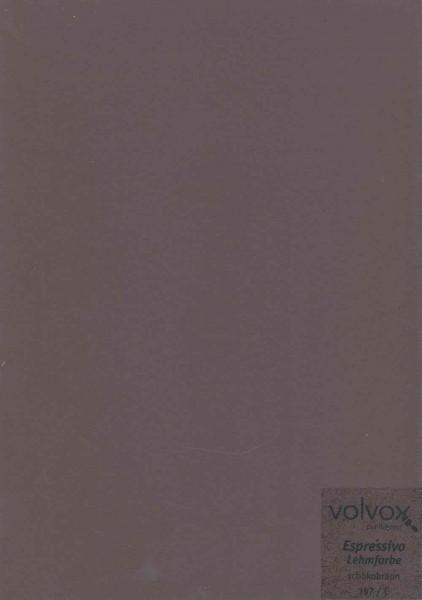 Volvox Espressivo Lehmfarbe - schokobraun