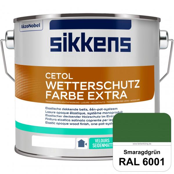 Cetol Wetterschutzfarbe Extra (RAL 6001 Smaragdgrün)