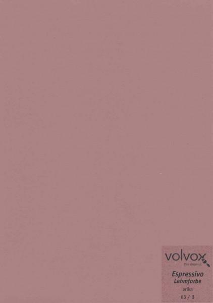 Volvox Espressivo Lehmfarbe - erika