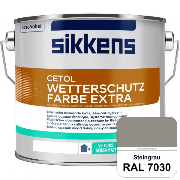 Cetol Wetterschutzfarbe Extra (RAL 7030 Steingrau)