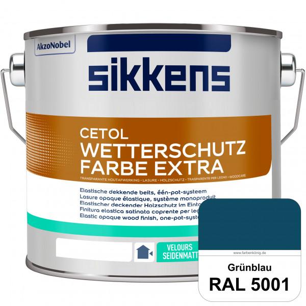 Cetol Wetterschutzfarbe Extra (RAL 5001 Grünblau)