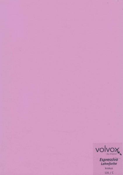 Volvox Espressivo Lehmfarbe - krokus