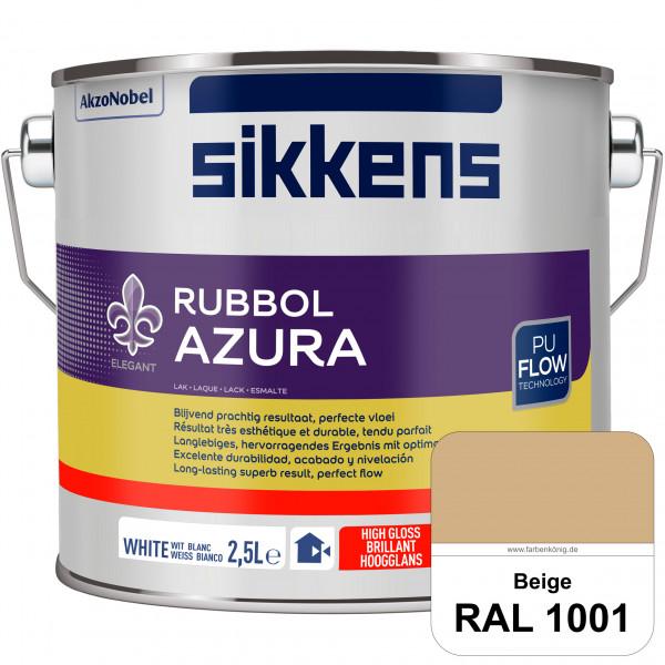 Rubbol Azura (RAL 1001 Beige) hochglänzender Lack (löselmittelhaltig) innen & außen